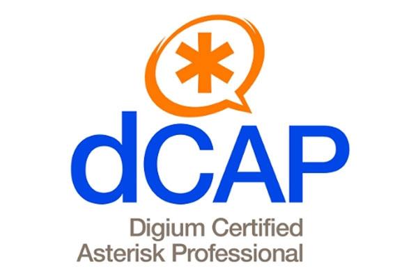 Examen para obtener el titulo dCAP de Digium