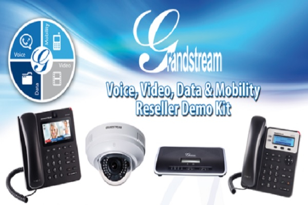 Imagen 1: DEMO Kit UCM6100 Office-in-a-Box. Grandstream