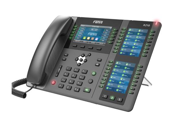 Imagen 1: Teléfono IP Fanvil X210 (sin fuente)
