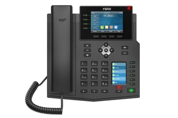 Imagen 1: Fanvil terminal IP X5U