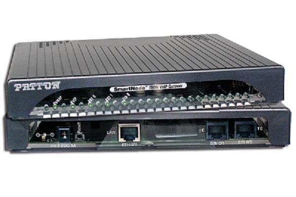 Imagen 1: Gateway Patton SmartNode SN4120 - 2 BRI (TE)
