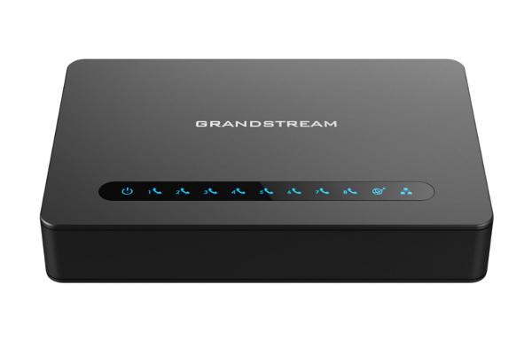 Gateway Grandstream ATA HT818 con 8 puertos FXS y Gigabit ya disponible en la tienda online de Avanzada 7