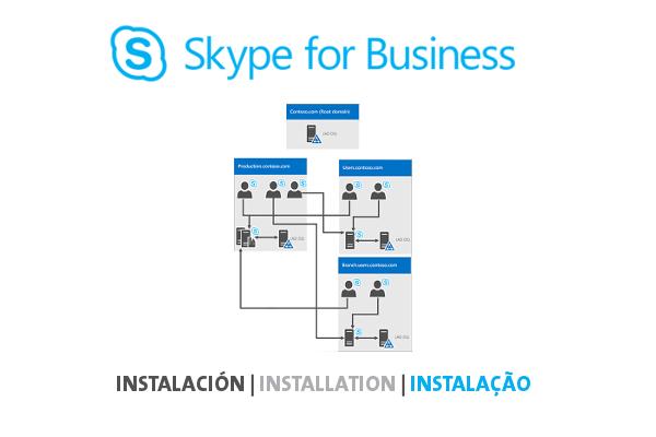 Avanzada 7 ofrece la posibilidad de planificar, desarrollar y administrar su solución Skype for Business