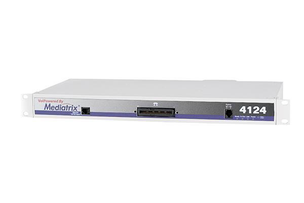 Gateway Mediatrix de 24 puertos FXS para conexión de hasta 24 teléfonos IP y/ o máquinas de fax
