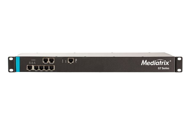 Gateway Mediatrix G7 de 1 PRI con 5 puertos Gigabit x 10/100/1000 Base-T Ethernet RJ-45 connectors