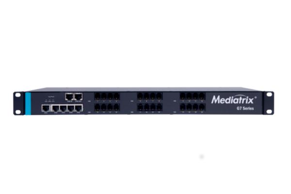 Gateway analógico Mediatrix G7 con 24 puertos FXO ya disponible en la tienda online de Avanzada 7