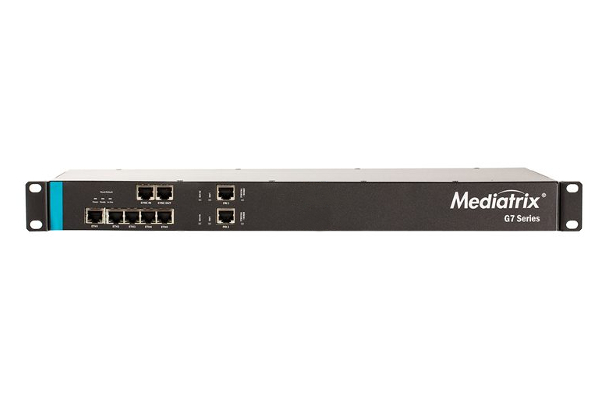 Gateway Mediatrix G7 de 2 PRI con 5 puertos Gigabit x 10/100/1000 Base-T Ethernet RJ-45 connectors