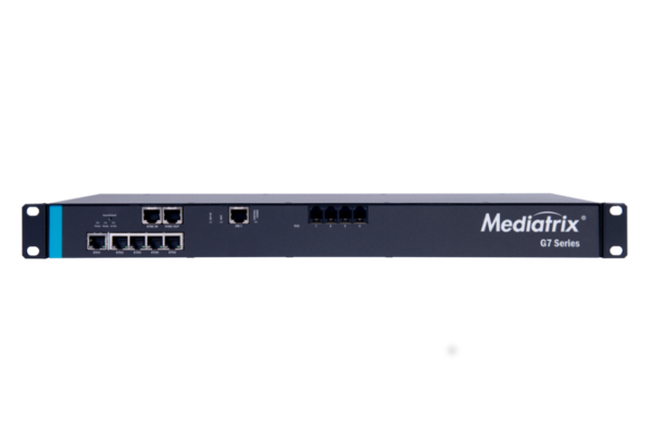 Gateway Mediatrix G7 que incorpora 1 puerto PRI y 4 puertos FXS ya disponible en la tienda online de Avanzada 7