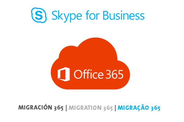 Imagen 1: Servicio de migración a Skype for Business Online
