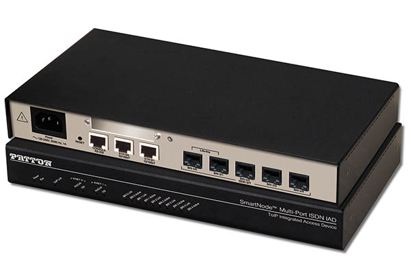 Imagen 1: Gateway+Router Patton SN4638 - 5BRI(8 llamadas)+cl