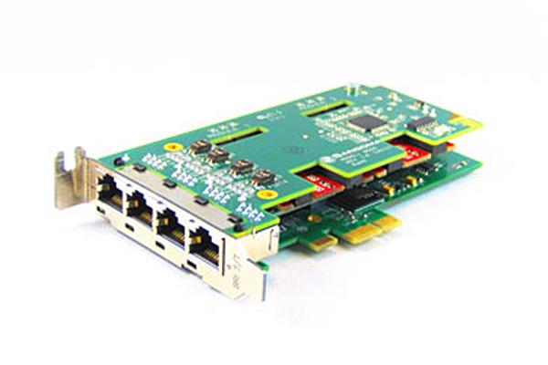 Imagen 1: Tarjeta Sangoma B502E (4 BRI - PCIe)
