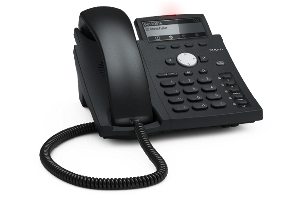 Teléfono VoIP Snom D315 con 4 cuentas SIP