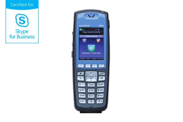 Terminal WiFi Spectralink 8440 compatible con Skype for Business ya disponible en la tienda online de Avanzada 7