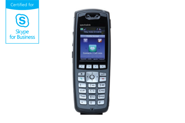 Terminal WiFi Spectralink 8453 compatible con Skype for Business ya disponible en la tienda online de Avanzada 7
