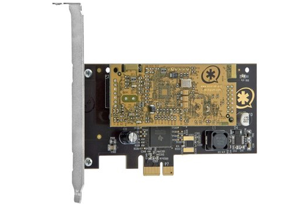 Tarjeta Digium TCE400B PCI-Express con cancelador de eco hardware