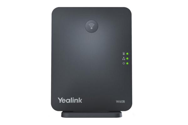 Estación base Yealink W60B apareable con hasta 8 handsets W56H de Yealink ya disponible en la tienda online de Avanzada 7