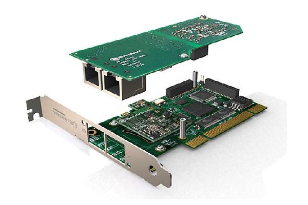 Imagen 2: Tarjeta Sangoma A102D (2E1 PCI Echo Cancel)