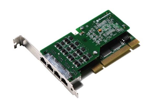Imagen 2: Tarjeta Sangoma A104 (4E1 PCI)