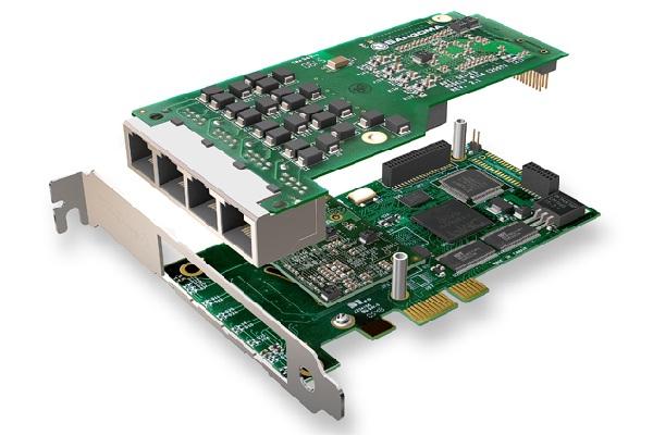 Imagen 2: Tarjeta Sangoma A104DE (4E1 PCI Express Echo Cancel)