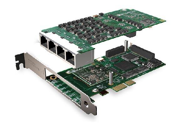 Imagen 2: Tarjeta Sangoma A108E (8E1 PCI Express)