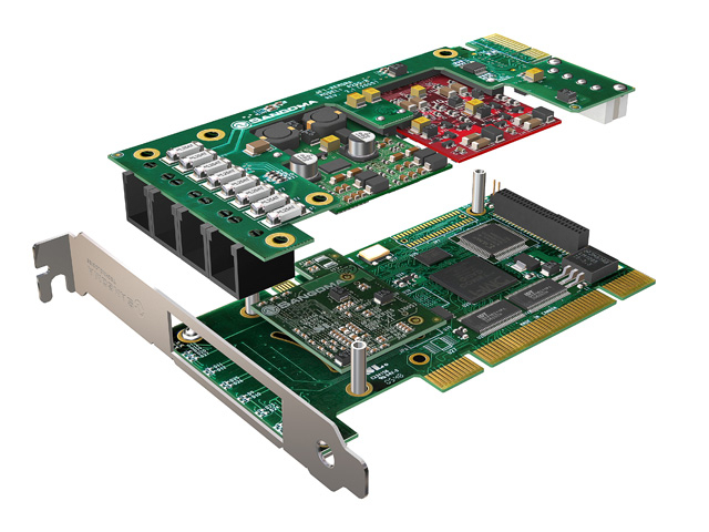 Imagen 2: Tarjeta Sangoma A200 Base+rémora PCI (A200)