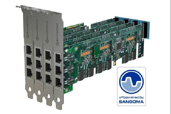 Imagen 2: Backplane Sangoma 4 conectores A500