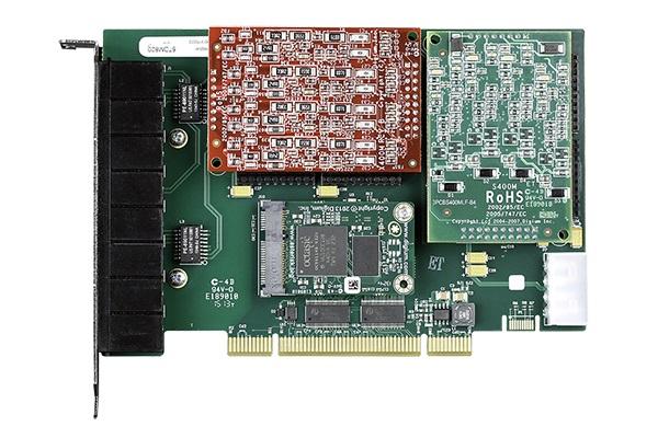 Tarjeta Digium A8A analogica con puertos FXS y FXO