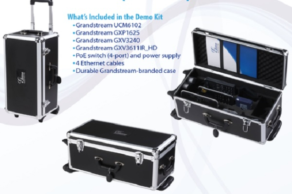 Imagen 2: DEMO Kit UCM6100 Office-in-a-Box. Grandstream