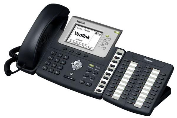 Teclado EXP38 de Yealink con 38 teclas de expansión para teléfonos IP