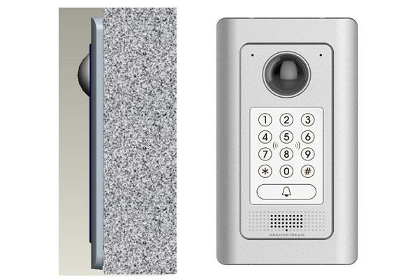 Videoportero Grandstream GDS3710 con PoE integrado con lector RFID