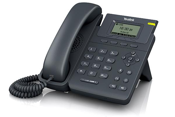 Teléfono VoIP de Yealink fabricado con materiales de alta calidad