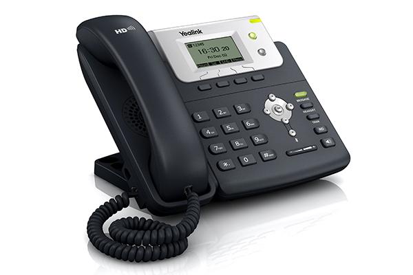 Teléfono Yealink T21 con SRTP/ HTTPS/ TLS, 802.1x