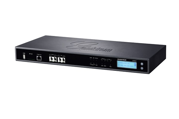 Centralita UCM6510 Grandstream de hasta 200 llamadas simultáneas