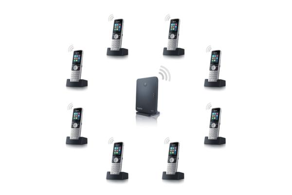 Handset Yealink W53H con pantalla TFT a color de 1.8'' y calidad de sonido HD ya disponible en la tienda online de Avanzada 7