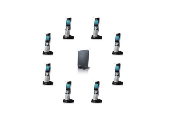Estación base Yealink W60B apareable con hasta 8 llamadas simultáneas y 8 cuentas VoIP ya disponible en la tienda online de Avanzada 7