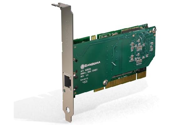 Imagen 3: Tarjeta Sangoma A101D (1E1 PCI + Echo Cancel)