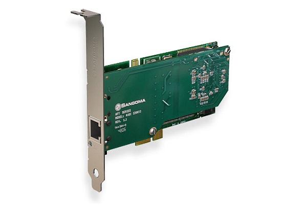 Imagen 3: Tarjeta Sangoma A101DE (1E1 PCI Express + Echo Cancel)