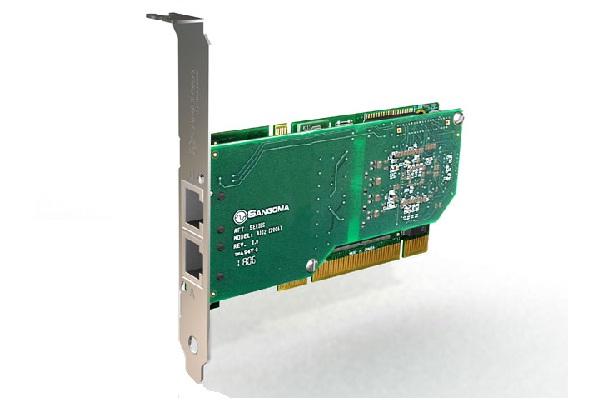 Imagen 3: Tarjeta Sangoma A102D (2E1 PCI Echo Cancel)