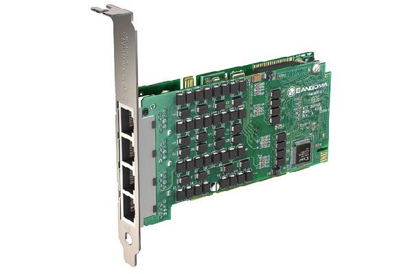 Imagen 3: Tarjeta Sangoma A108D (8E1 PCI Echo Cancel)
