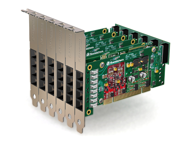 Imagen 3: Tarjeta Sangoma A200 Base+rémora PCI (A200)