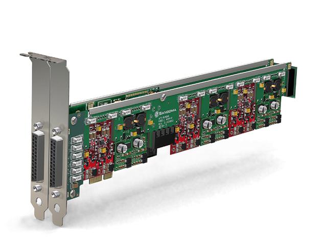 Imagen 3: Tarjeta Sangoma A400 Base+Remora PCI-e (A400E)