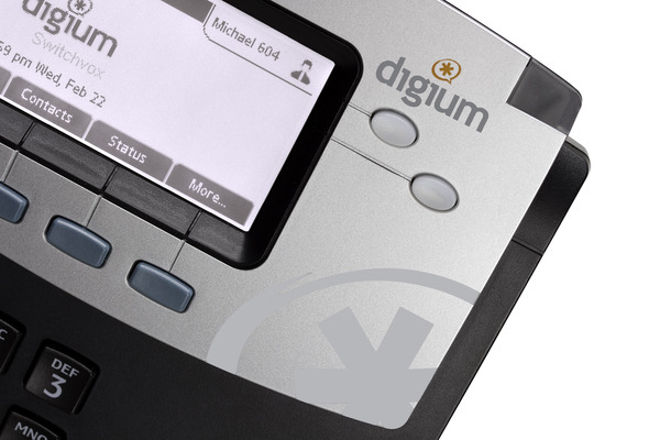 Imagen 3: Teléfono IP Digium D40 (2 líneas, PoE)