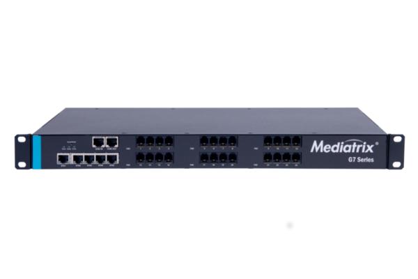 Gateway analógico Mediatrix G7 con 24 puertos FXO y 5 Gigabit ya disponible en la tienda online de Avanzada 7
