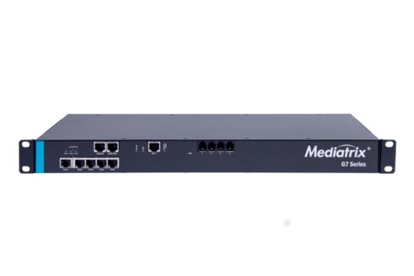 Mediatrix G7 incorpora 5 puertos Gigabit y puertos PRI y FXS ya disponible en Avanzada 7
