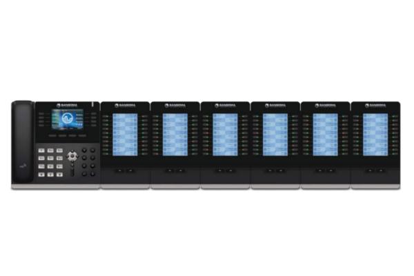 Teclado de expansión EXP 100 compatible con teléfonos IP Sangoma con dos puertos RJ45 ya disponible en Avanzada 7