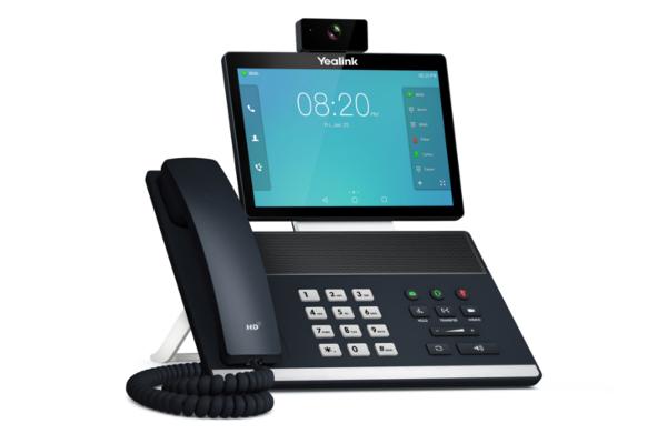 Videoteléfono Yealink VP59 compatible con Yealink W52H / W53H / W56H /  DD Phone a través del Dongle DD10K