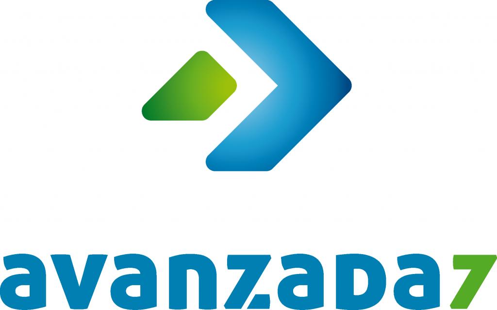 Logo Avanzada 7 vertical - Aniversario