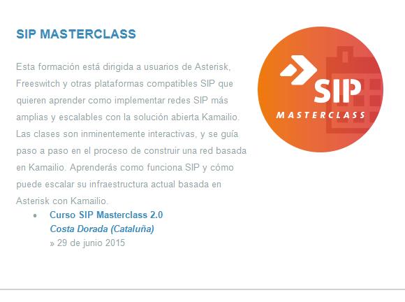 Curso SIP Masterclass - Avanzada 7