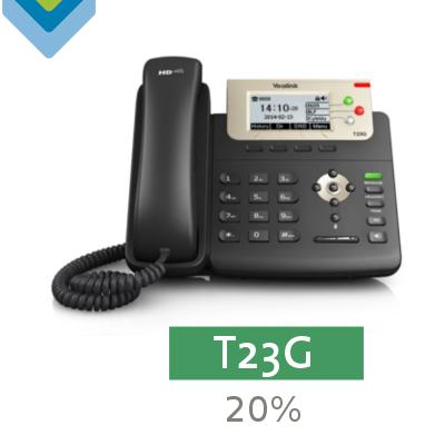Yealink T23G - Avanzada 7