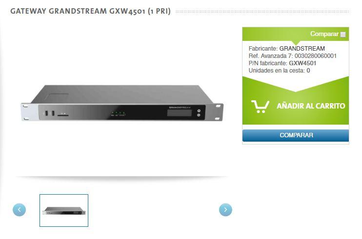 Gateway Grandstream GXW4500